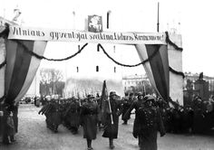 The Lithuanian Army parades through Vilnius. In 1922, the city was annexed by Poland. However, when the Second World War began with the German invasion of Poland, the secret protocols of the Molotov-Ribbentrop Pact had partitioned Lithuania and Poland into German and Soviet spheres of interest. The USSR and Lithuania concluded a mutual assistance treaty on 10 October 1939. On 28 October 1939, the Red Army withdrew from the city and Vilnius was returned to Lithuania. However, the whole of…