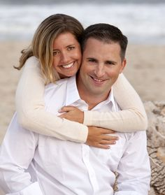 Couple on the beach | Deborah Kalas Portrait Photography
