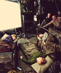 behind the scenes, HARRY POTTER