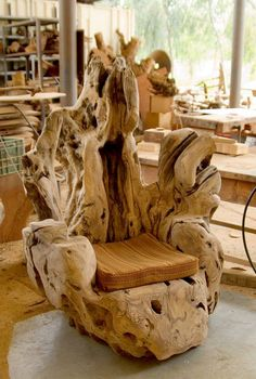 Old trunk Chair