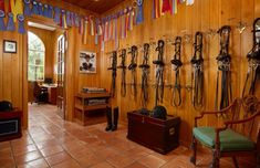 Tack Room Stable Style: Wellington Real Estate