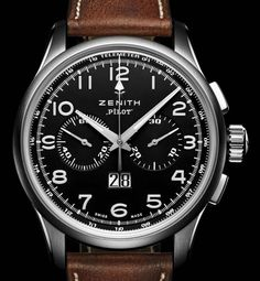 PILOT BIG DATE SPECIAL watch by Zenith on Presentwatch :: Yes please.