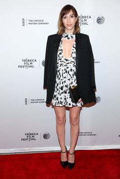 Pin for Later: If Elizabeth Banks Doesn't Brighten Your Day, What Will? Gia Coppola Gia Coppola in Saint Laurent by Hedi Slimane at the Tribeca Film Festival premiere of Alex Of Venice.