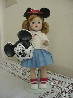 Ginger doll in the Official Mouseketeer #S103 with mickey mask!