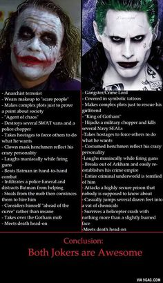 There is no bad Joker