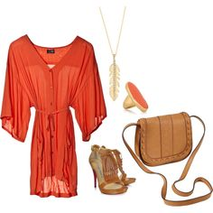 Always a sucker for anything orange :) it just looks great on everyone!