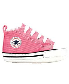 Converse Baby Boy or Baby Girl First Star Crib Shoes - Kids - Macy's (can't change the default pic from pink... but obviously, Liam doesn't want pink chuck taylors.... black and navy would be great ;))