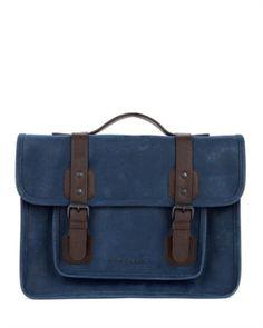 Scotch grain satchel - LOCHUS by Ted Baker