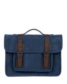 Scotch grain satchel - LOCHUS by Ted Baker