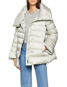 Shop ADD Women's Down Short Cape Jacket, Blue (Royal Medium. Cape Jacket, Pearl Grey, Winter Jackets, Amazon, Clothing, Blue, Shopping, Fashion, Winter Coats