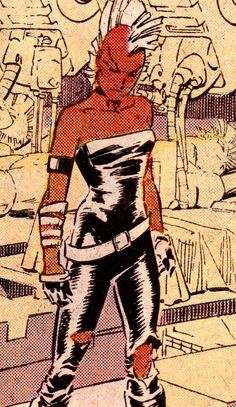 Mohawk Storm Uncanny X-Men #212 (December 1986)Art by Rick Leonardi  Dan Green