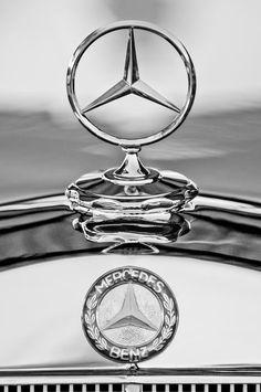 Mercedes Benz Hood Ornament - Jill Reger