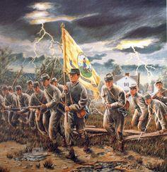 wilderness civil war battle art prints - Bing Images