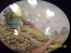 China Painting Study 22 Beth Watson Scene Hand Written | eBay