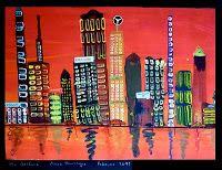 Big City | Kunst im Schulhaus Rosenau