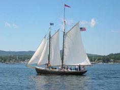 The Schooner Surprise - windjammer sail from Camden, ME
