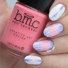 Kaleidoscope dream... @veryemily definitely makes us day dream about #NailArt all the time. Dream no more and shop all things #nails with #bundlemonster! Click the image now :)