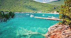 Zanjic Beach in Lustica, Montenegro