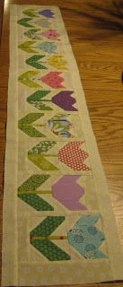 Quilting Blog - Cactus Needle Quilts, Fabric and More: Row Along Spring Tulips
