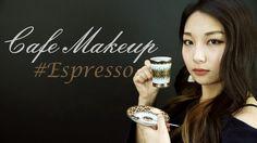 [카페메이크업] #01 에스프레소 그윽하고 분위기있는 음영메이크업 Cafe Makeup 01 Espresso Brown makeu...