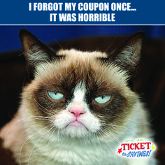 #couponscats  For great coupons check out tickettosavings.com