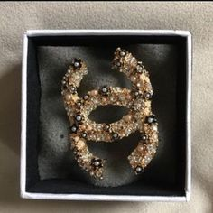 a847e4e8673 RARE 2005 Chanel Wearing Collection Brooch Pin Brand New in Box Authentic  Chanel Pin. Gold backing with Chanel stamp. Colorful crystal flowers and  pearl ...