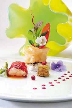 Dining at 2 Michelin Star Restaurant
