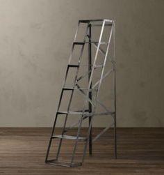 Mid-Century Shop Ladder