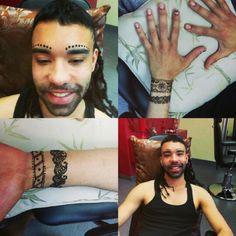 Henna from ibhb Brows, Henna, Portrait, Tattoos, Eyebrows, Tatuajes, Men Portrait, Tattoo, Hennas