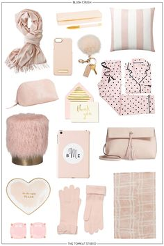 LOVE Blush? We've rounded up 15 of our favorite blush pink items we LOVE! Great gift ideas for the holidays!