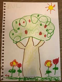 Dibuix de la Berta. 6 anys.