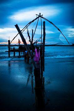 Chinese fishing Nets, Kerala, India