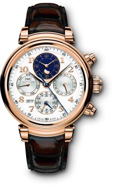 IWC Da Vinci Perpetual Calendar Chronograph Ref. Stylish Watches, Luxury Watches For Men, Cool Watches, Luxury For Men, Gentleman Watch, Iwc Watches, Swiss Army Watches, Rolex Oyster Perpetual, Beautiful Watches