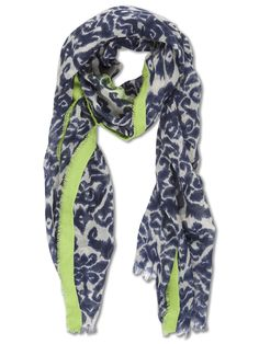 Scarf with fluor colours. TRUCCO Summer 2012