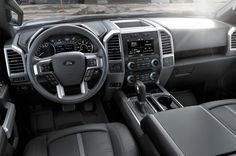 2016 Ford F150 Interior