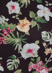 Paradise Found - maker's of fine Hawaiian clothing for over 50 years. 100% Rayon.  *Bougainvillea Paradise Found Blouse created in *Sage, *Cream, *Red and *Black