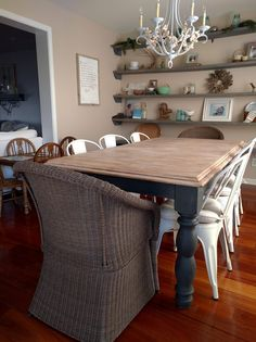 Is your dining table looking a little tired? I see so many tables for sale on our local buy, swap, sell pages that have good...