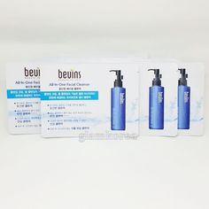 Sample Pouch 40pcs BEUINS All in One Facial Cleanser Foam Cleansing Gel Korea #BEUINS