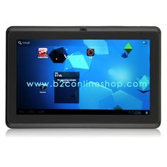 Build Excellent B76C 7 Inch Capacitive Screen Android 4.0 1GB RAM 8GB Dual Camera HDMI Tablet PC White