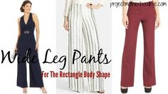 Are you a rectangle body shape that never thought you could wear wide leg pants? Thank again! Our guide will have you feeling glamorous and confident!