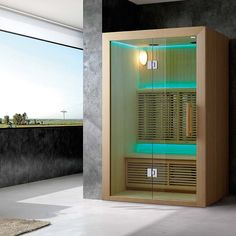 Sauna Infrarouge Hydro 2 à 3 Places Sauna Infrarouge, Tall Cabinet Storage, Places, Saunas, Room, Home Decor, Furniture, Bedroom, Rum
