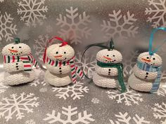 Sea Urchin Snowman Ornament by AdorningDelights on Etsy https://www.etsy.com/listing/211107451/sea-urchin-snowman-ornament