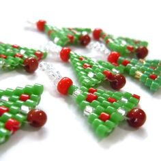 beaded xmas tree - Google Search
