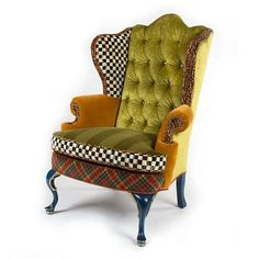 The Royals Wing Chair I am ridiculously in love with this chair!!!❤