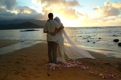 Kauai Wedding Minister and Kauai Wedding Officiant. Kauai Wedding, Sunset Wedding, Dream Wedding, Wedding Minister, Hanalei Bay, Wedding Officiant, Wedding Ceremony, Couple Photos, Couples