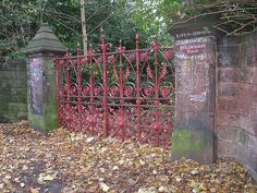 Strawberry Field. Liverpool England.