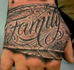 Bandana Ink Tattoos Hand Tattoo Family Quotes
