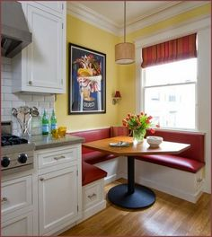 Kitchen Booth Design Ideas, Pictures, Remodel, and Decor - page 2 | corner  booth | Pinterest | Kitchen booths,