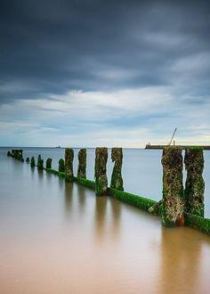 Aberdeen Beach - Simplicity, Scotland's East Coast.