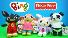 Bing Bunny and Friends Soft Toys BBC Cbeebies TV Show | Kids Play O'Clock